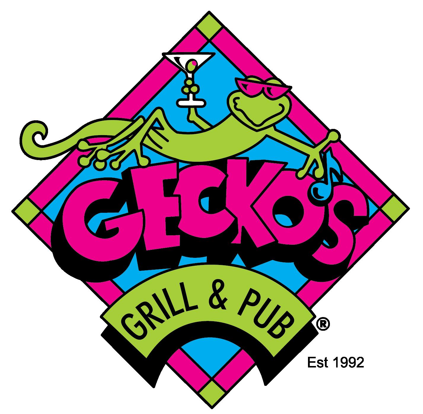 Geckos Grill & Pub Logo